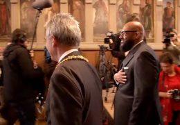 Moses Pelham erhält Frankfurter Goetheplakette