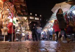 Streit um Darmstädter Weihnachtsmarkt
