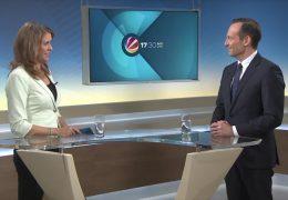 Zu Gast im Studio: Der rheinland-pfälzische FDP-Landesvorsitzende Volker Wissing