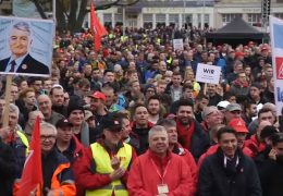 Demonstrationen in Andernach