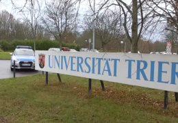 Großeinsatz an der Universität in Trier