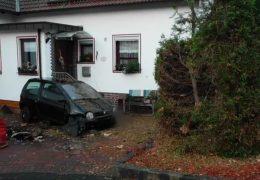Unfall-Hotspot Einfamilienhaus