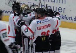 Bad Nauheim gewinnt das Eishockeyderby gegen die Frankfurter Löwen