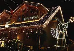 Zu Besuch im Weihnachtshaus