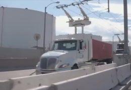 Stromtrasse für den LKW-Verkehr