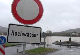 Hochwasser in Hessen und Rheinland-Pfalz