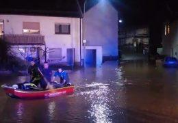 Immer noch Hochwasser in Rheinland-Pfalz