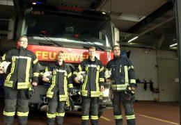 Cooler Job bei der Feuerwehr
