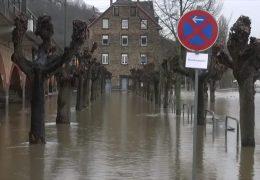 Hochwasser in Rheinland-Pfalz und Hessen