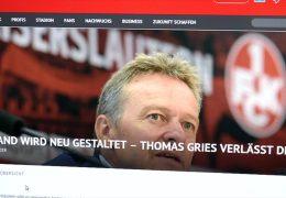 Thomas Gries verlässt den FCK