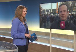 Live-Schalte zu unserem Sportreporter David Rischke