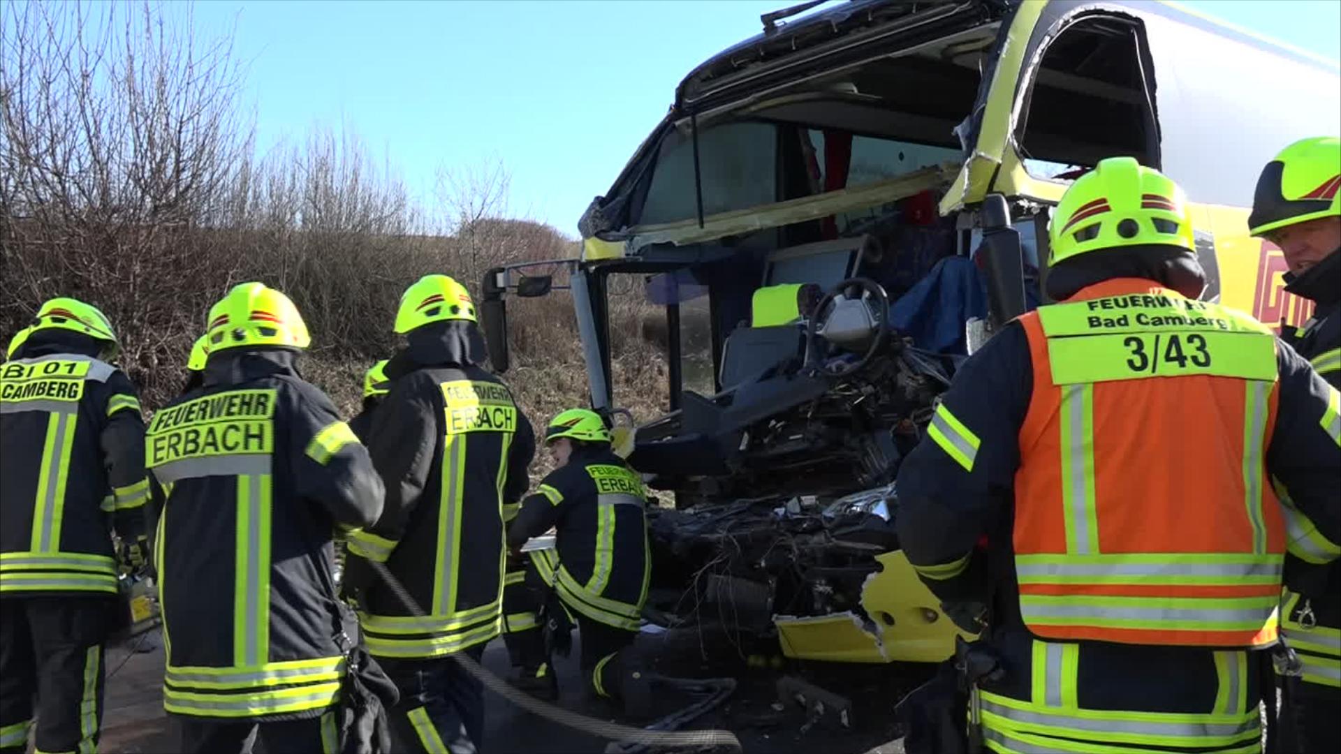 Schwerer Unfall Auf Der A3 1730live Rheinland Pfalzhessen