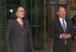 Andrea Nahles soll SPD-Bundesvorsitzende werden