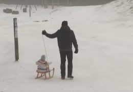 Ski und Rodel gut auf dem Erbeskopf