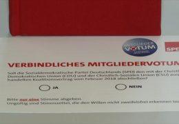 Ärger über Unterlagen für SPD-Mitgliederentscheid