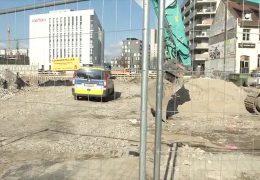 Weltkriegsbombe wird in Frankfurt entschärft