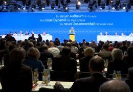 CDU diskutiert über den Koalitionsvertrag