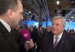Im Interview: Volker Bouffier auf dem CDU-Parteitag