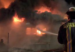 Sägewerk in Neuwied brennt nieder