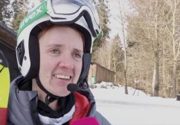 Sehbehinderte Skirennläuferin aus Hessen bei den Paralympics