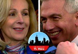Noch zwei Tage bis zur OB-Stichwahl in Frankfurt