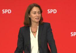 Katarina Barley wird Justizministerin