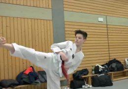 Deutscher Jugendmeister im Taekwondo