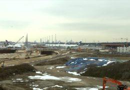 Baustelle an Deutschlands größtem Flughafen