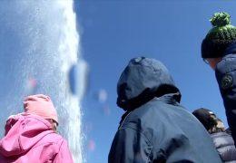 Weltrekordfontäne – der Kaltwassergeysir in Andernach