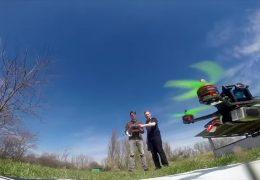 Trendsportart Drohnenrennen
