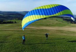 Paragliding auf der Wasserkuppe