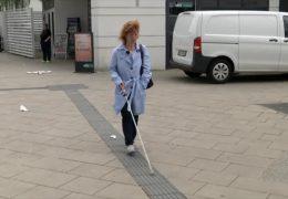 Probleme für Blinde am Bahnhof in Oberursel