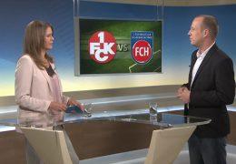 Studiotalk zur Fussball-Bundesliga