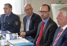 Sicherheit auf dem Rheinland-Pfalz-Tag in Worms