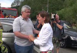 Nach der Unwetterkatastrophe: Malu Dreyer besucht Herrstein