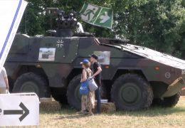 Streit um Bundeswehr auf dem Hessentag
