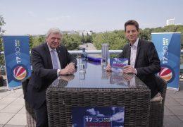 """Das """"17:30 SAT.1 LIVE""""-Sommerinterview: Heute mit Volker Bouffier (CDU), Ministerpräsident des Landes Hessen"""