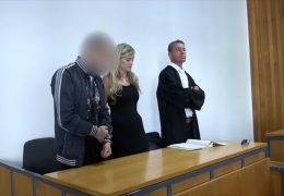 Prozessbeginn in Mainz