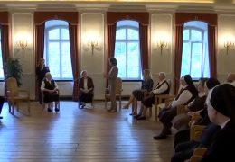 Ministerpräsidentin Malu Dreyer besucht Franziskanerinnen