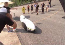Weltrekord mit Velomobil