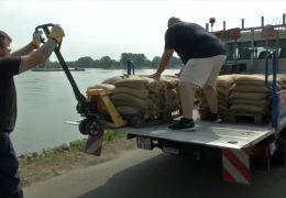 Weltkriegsmunition im Rhein gesprengt