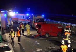 Fahrerflucht nach Unfall auf der A5