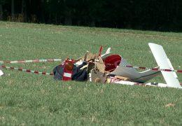 Kleinflugzeug bei Simmern abgestürzt