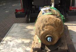 Bombe in Ludwigshafen entschärft