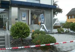Geldautomat in Rheinböllen gesprengt
