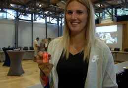 Empfang für Goldmedaillen-Gewinnerin Christin Hussong in Zweibrücken