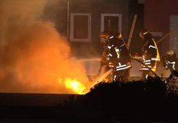 Großbrand in Hattersheim