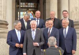 Innenminister der Union treffen sich in Wiesbaden