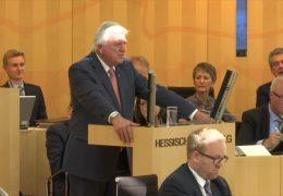 Regierungserklärung von Volker Bouffier
