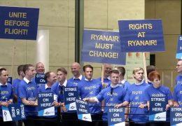 Streiks bei Ryanair am Mittwoch